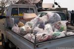 当日回収をした北浦湖畔のゴミ